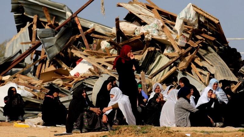 د فلسطينيانو د کورونو ويجاړول