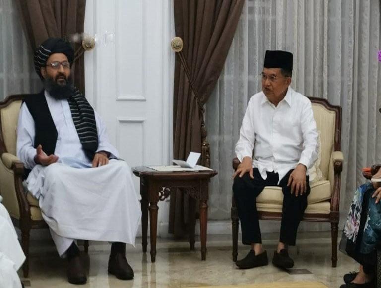 د اندونیزیا د ولسمشر مرستیال سره دملابرادر لیدنه