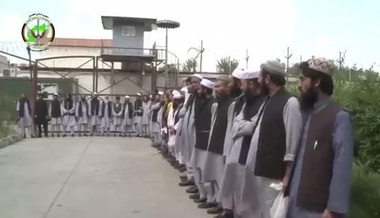 د اختر په مناسبت دطالبانو۳۵ زندانیان خوشي شول