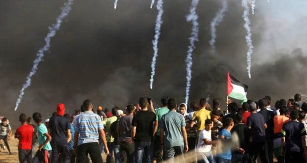 د ستنېدو حق په لاريون کښې نور۴۹ فلسطينيان زخمي شول