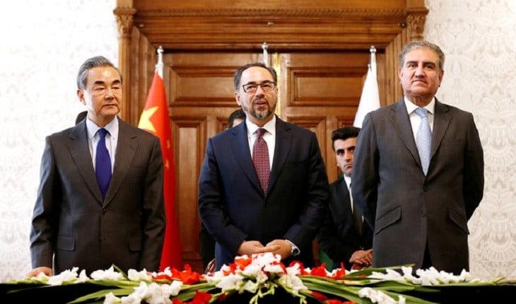 د افغانستان، پاکستان او چین درېیمه ناسته