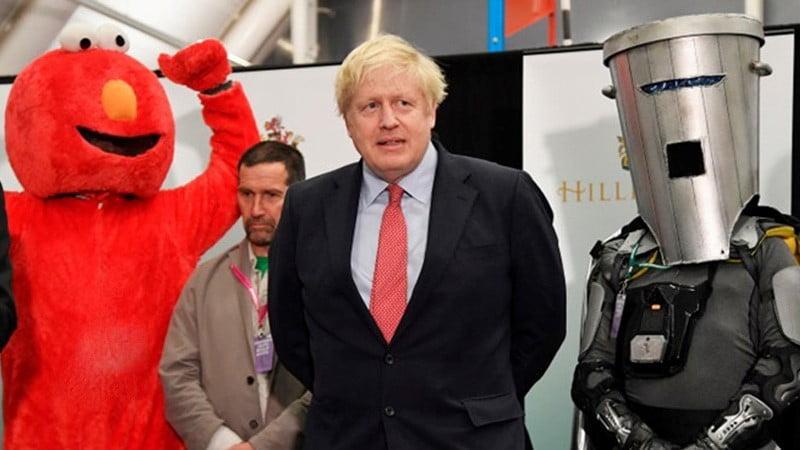په بریتانیا کی پارلمانی انتخابات محافظه کار ګوند و ګټلی