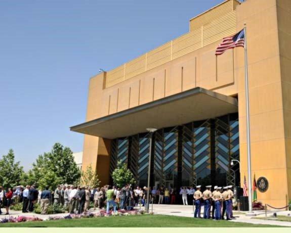 دافغانستان په پلازمینی کابل کی د امریکا دسفارت غوښتنه