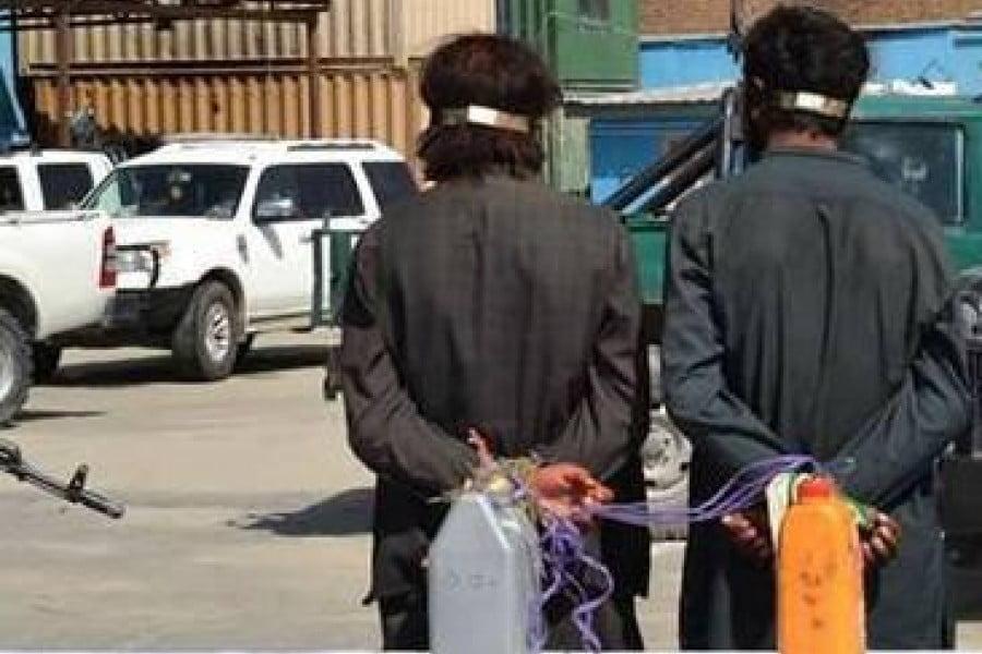 عام وګړي د طالبانو په نامه بندیان کول
