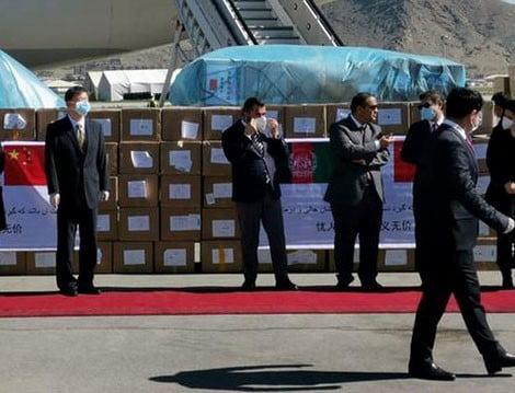 افغانستان ته د چین د طبي مرستی دویمه جوپه رسیدل