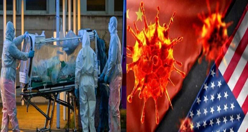 په امریکا کې دیوی ورځی د کرونا ویروس ۴۰۰۰۰ مثبتې پېښې ثبتول