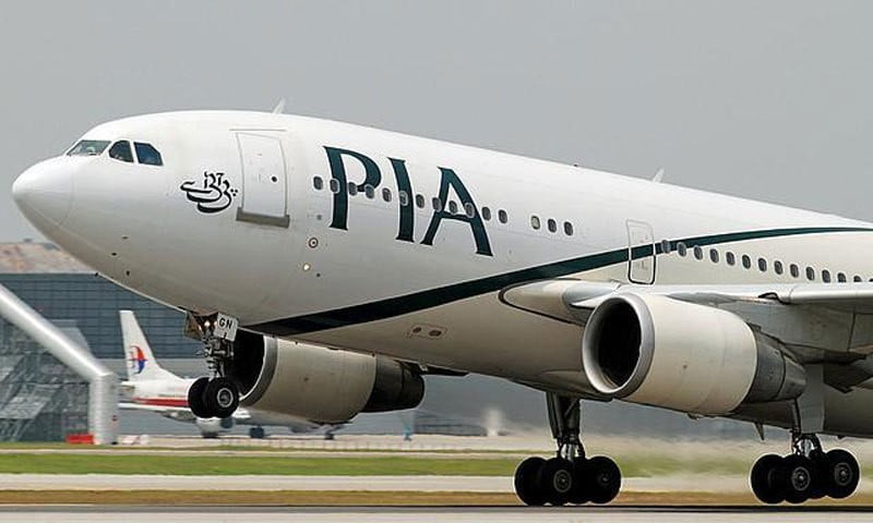 د پاکستان د PIAشرکت په الوتنو بنديز لګول