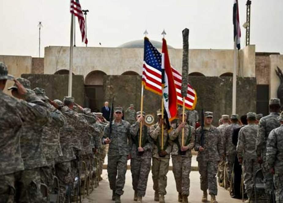 د عراق – کویټ پر پوله د امریکا نظامي اډه په نښه شوې