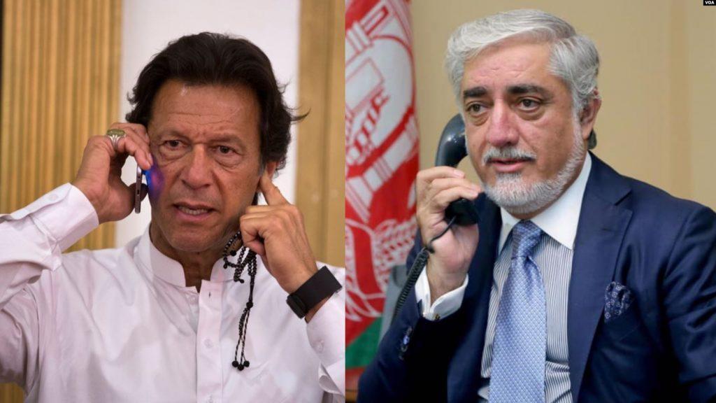د عالي ملي پخلاینې شورا رییس او د پاکستان لومړي وزیر ترمنځ د تلیفون خبرې