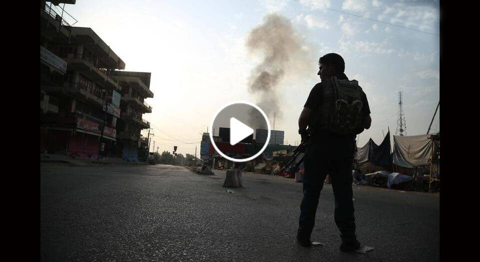 ویدیو/ د ننګرهار پر زندان د داعش د برید لومړني عکسونه
