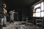 آتش مکتب 150x100 - تخریب ساختمان چهار مکتب در ولایت کنر