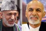 اشرف غنی و کرزی 150x100 - گفتگوی تیلفونی رییس جمهور غنی با رییس جمهور پیشین کشور