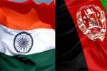 افغانستان هند 150x100 - امضای شش تفاهم نامه همکاری بین افغانستان و هند