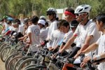 بایسکل رانی 1 150x100 - آغاز مسابقات بایسکل رانی پسران در شهر مزارشریف