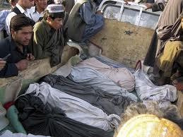 بربنیاد یک گزارش گنگرۀ امریکا که روز دوشنبه پخش شده است، حدود ۲۲۶۲ غیرنظامی درخشونت های ۲۰۱۱ میلادی کشته شده اند.3 - 22 تن کشته و زخمی در اثر دو انفجار جدا گانه در ولایات غزنی و پروان
