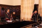 تحلیف 150x100 - اجرای مراسم تحلیف قضاوتوال عبدالحسیب احدی با حضور رییس جمهور