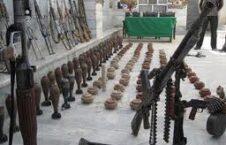 تحویل دهی بیش صد میل سلاح به برنامه دایاک 226x145 - کشف یک مخفیگاه سلاح و مهمات تروریستان در ولایت ننگرهار
