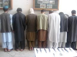 دستگیرشدن شش تروریست در ولایت ننگرهار