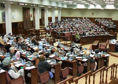 رايزني ها برای تصویب بودجه مالي 1391 در ولسي جرگه - گفتگو اعضای ولسی جرگه روی برگزاری انتخابات آینده ریاست جمهوری