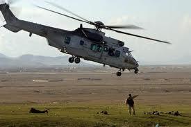 سقوط یک هلیکوپتر آیساف در لوگر2 - ربوده شدن سرنشینان یک هلیکوپتر در لوگر