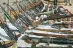 سلاح 150x100 - کشف یک مخفیگاه سلاح و مهمات شبکه حقانی در ولایت خوست