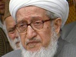 حضرت صبغت الله مجددی رئیس جمهوری سابق کشورمان وفات یافت