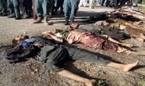مسلح کشته - کشته شدن هجده تن از مخالفین مسلح حکومت در ولایات کندز و بغلان
