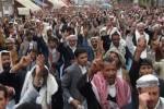 مظاهره یمن 150x100 - مظاهره صدها یمنی در اعتراض به ادامه تجاوزهای عربستان