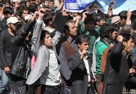 مظاهره - مظاهره صدها تن از باشنده گان ننگرهار