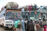 مهاجرت 150x100 - مهاجرت 75 هزار تن از وزیرستان به افغانستان