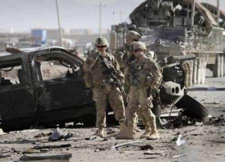 وقوع یک انفجار در بغلان شماری زخمی برجای گذاشت - وقوع یک حمله انفجاری بالای کاروان نظامیان خارجی در پروان