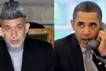 کرزی اوباما 150x100 - گفتگوی تلیفونی حامد کرزی و بارک اوباما