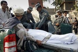کشته و زخمی شدن 20 غیر نظامی افغان بر اثر حملات موشکی - ده تن کشته و زخمی در ولایت هلمند