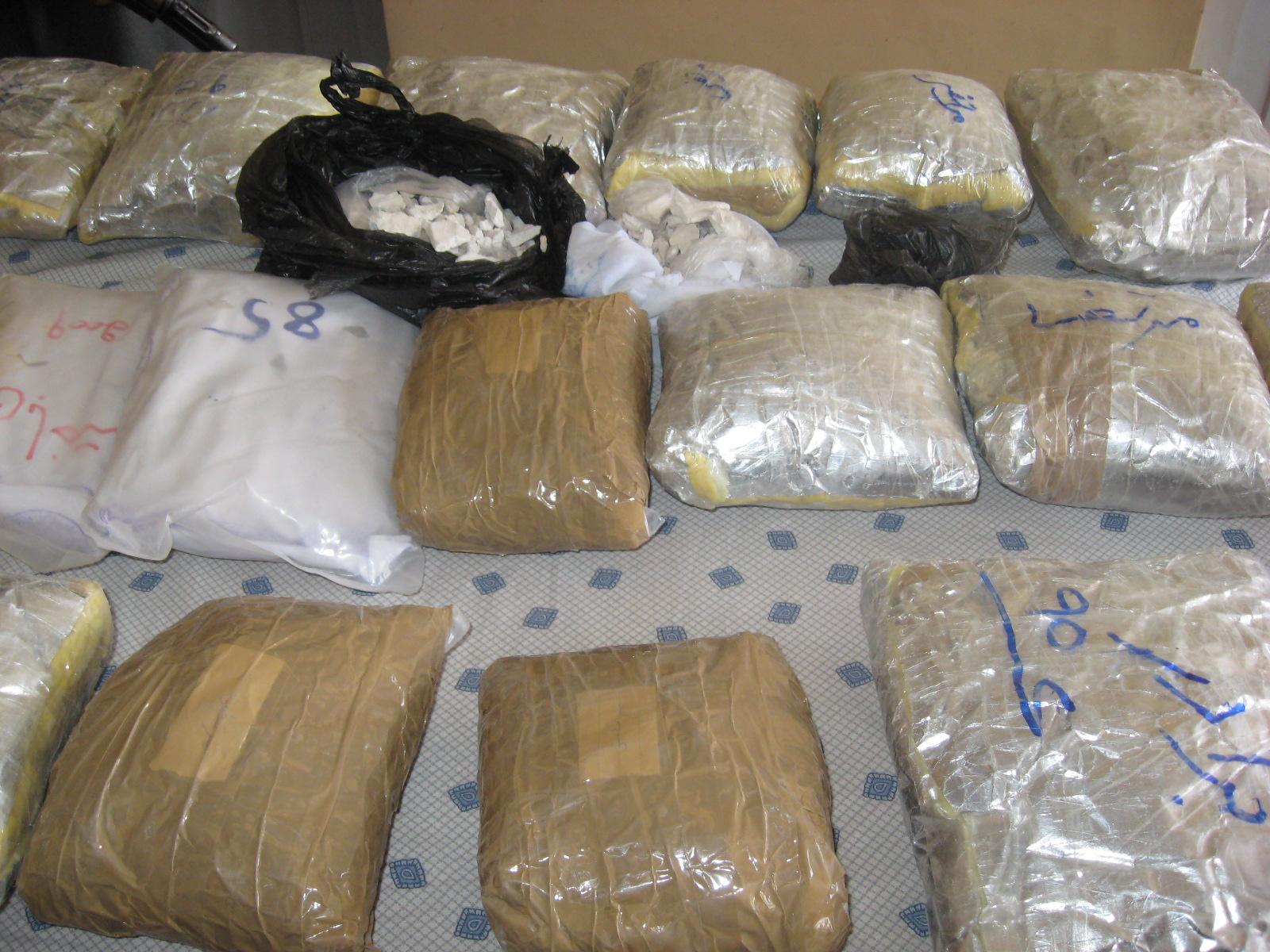 کشف 8 تن مواد مخدر در گذرگاه سرحدی چمن