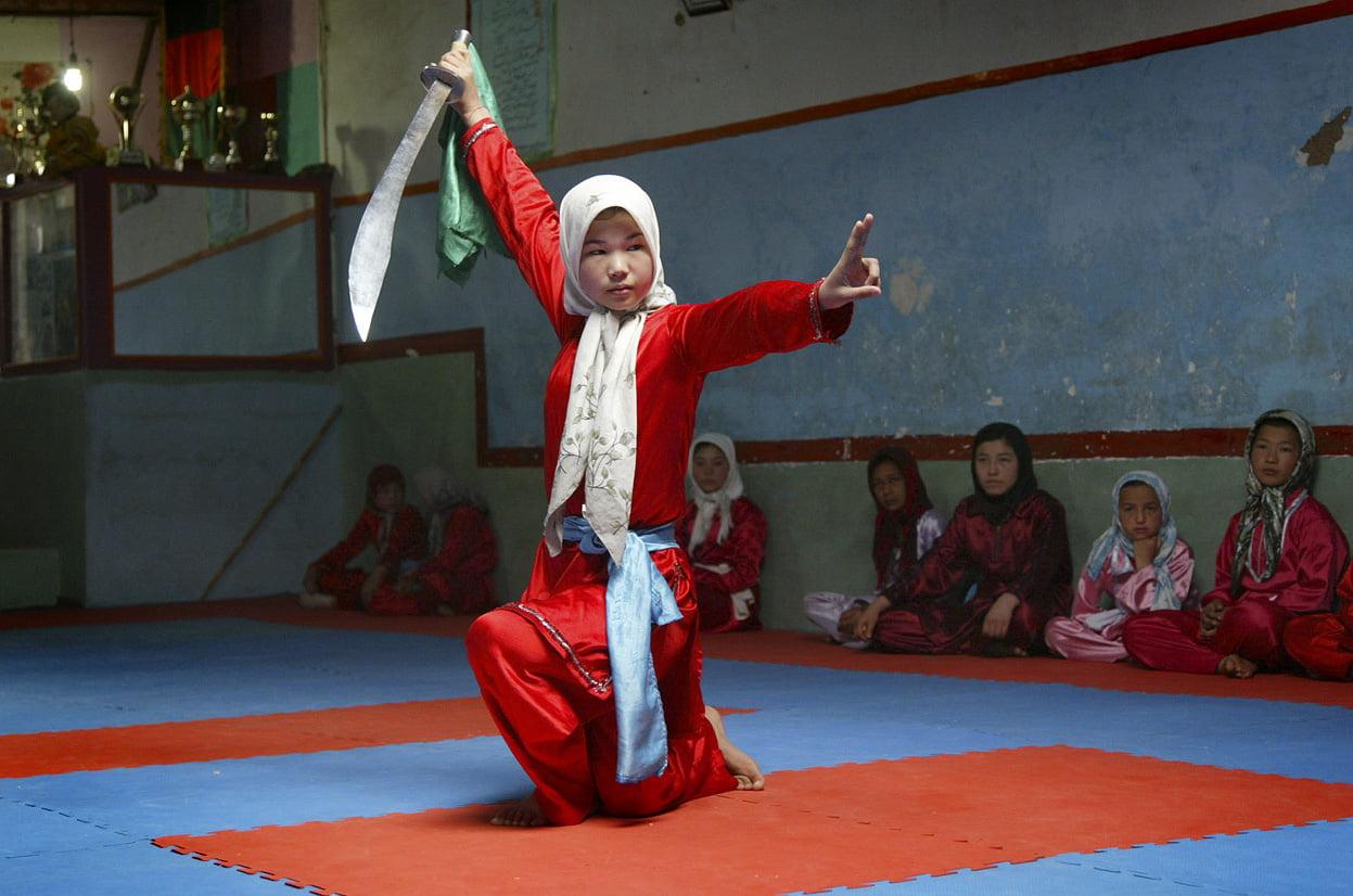 ووشوکاران دختر افغانستان