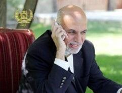 احمدزی 1 1 - گفتگوی تلیفونی رییسجمهورغنی با صدراعظم جرمنی