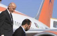 احمدزی 1 226x145 - رئیس جمهور احمدزی به وطن برگشت