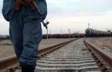 خط آهن 226x145 - دیدار وزیر امور خارجه ترکمنستان از تأسيسات در حال ساخت خط آهن در بندر آقینه