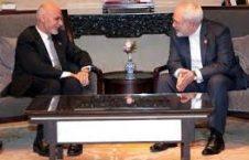 غنی و ظریف 1 226x145 - دیدار رییس جمهور احمدزی با وزیر خارجه ایران