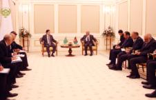 غنی 226x145 - دیدار رئیس جمهور احمدزی با روسای جمهور تاجکستان، ترکمنستان و قزاقستان
