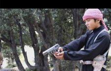 داعش 226x145 - اعدام جاسوس طالبان توسط یک نوجوان داعشی