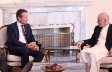 غنی 1 226x145 - دیدار رئیس جمهور غنی با وزیر خارجه دنمارک
