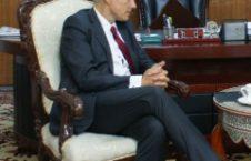 فرانس میخائیل میلبین 226x145 - دیدار رئیس ستره محکمه با سفیر اتحادیه اروپا