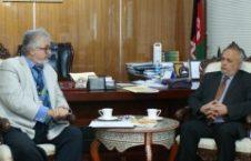 یوسف حلیم 226x145 - دیدار رئیس ستره محکمه با رئیس بخش حاکمیت قانون یوناما