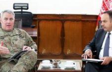 دیدار وزیر مالیه با جنرال ریچارد کیسر