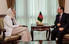 ربانی 2 226x145 - دیدار صلاح الدین ربانی با معاون نماینده خاص سرمنشی ملل متحد