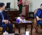دیدارغزال حبیب یار با معاون بانک انکشاف آسیای