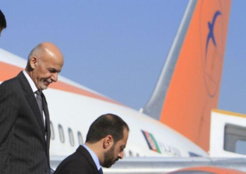 غنی - اشرف غنی به ترکمنستان سفر می کند