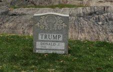 ترمپ2 226x145 - رونمایی از سنگ قبر ترمپ!
