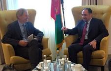 ربانی 2 226x145 - ملاقات صلاح الدین ربانی با رئیس گروه بین المللی بحران